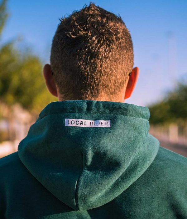 THE LOCAL RIDER HOODIE - detail