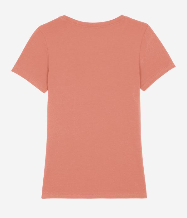 The WAVE shirt - rose clay - Achterkant