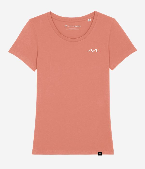 The WAVE shirt - rose clay