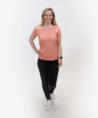 The WOMEN WAVE shirt - Rose clay